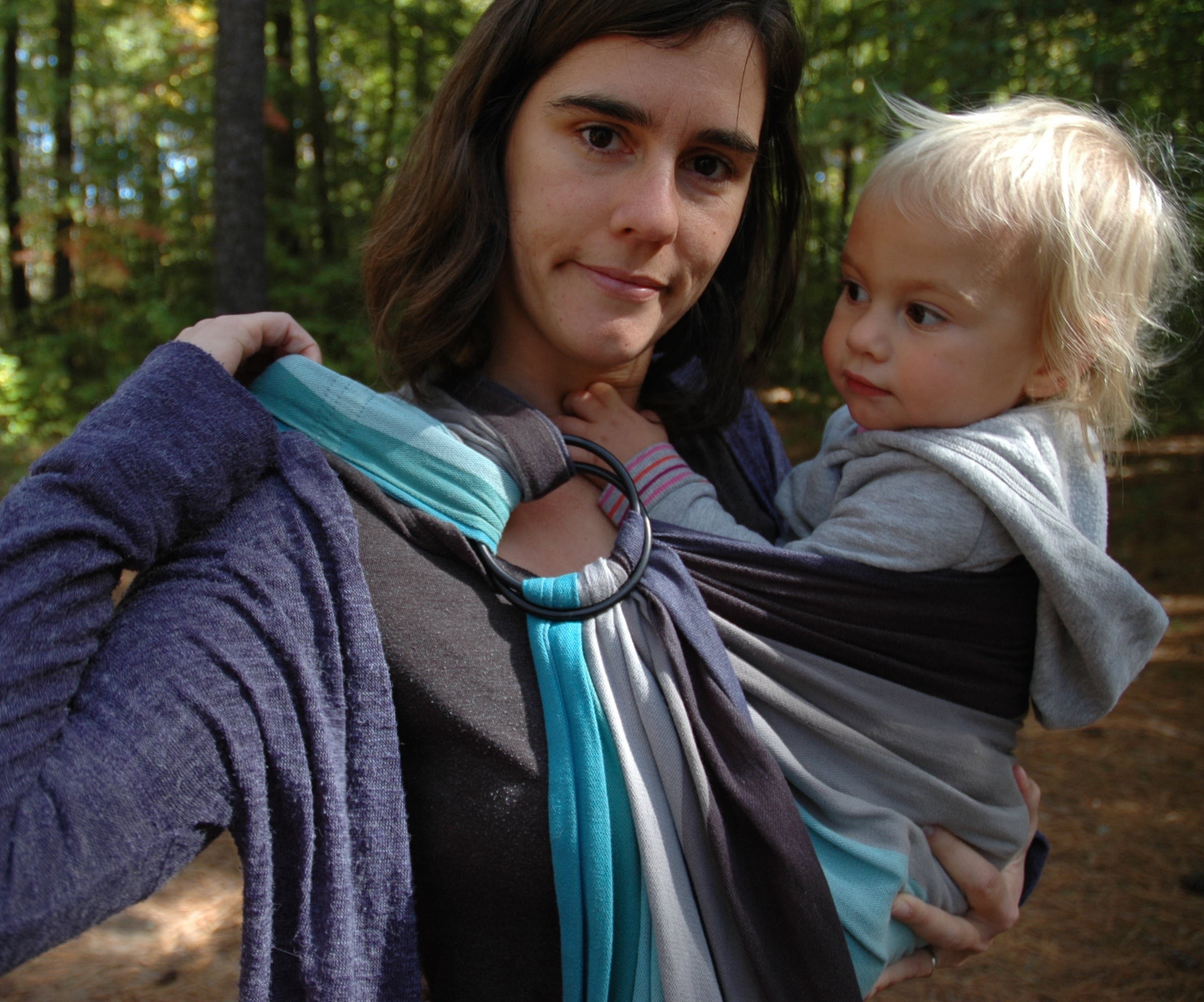 4737aef7335 Ring Sling Troubleshooting  Seven tips for a secure and comfortable ...